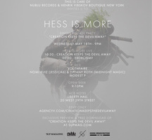 Hess-is-more