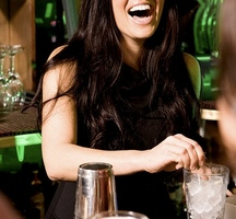 Cocktail-girl-drinking-3
