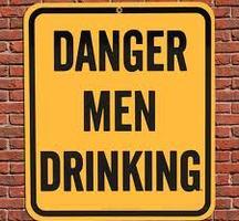 Men-drinking-sign