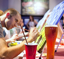 Paint-nite-drinks