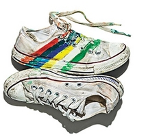 Converse-painted